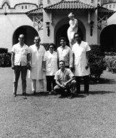 Ing. Michal Jačanin pri jeho pracovnom pobyte na Kube s kubánskymi kolegami