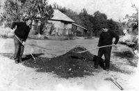 Michal Stanič pomáhal pri výstavbe parku