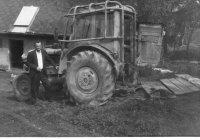 kedysi odstavná plocha pre traktor