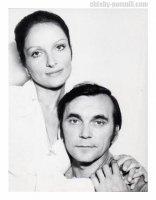 Larisa Šepiťková a manželom režisérom Elemom Klimovom