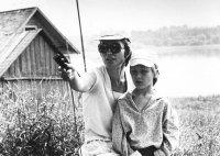 Pri natáčaní jej posledného filmu Rozlúčka s matkou