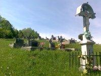 kríž a nový cintorín