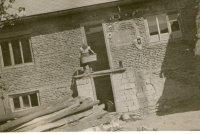 výstavba nových domov - rok 1960
