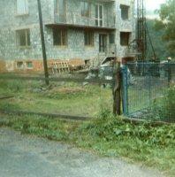 výstavba nových domov - rok 1984