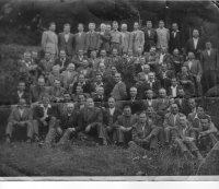 zraz mlynárov z východného Slovenska v roku 1950 v Košiciach, ktorého sa zúčastnil aj ciglanský mlynár  /v druhom rade zhora šiesty z ľava/