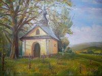 obraz kaplnky od Dušana Adama