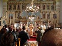 storočnica chrámu za prítomnosti arcibiskupa Jána Babjaka (rok 2008)