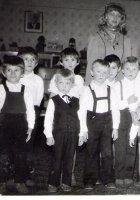 a ešte ciglanské detičky v škôlke v Dubovej s pani učiteľkou Šepitkovou