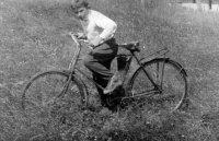 na takýchto bicykloch sa vozili deti