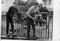 brigáda v miestnom parku - rok 1971