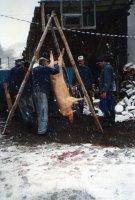 zabíjačka - rok 1991