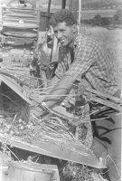 samoviazač - stroj na kosenie a viazanie obilia do snopov