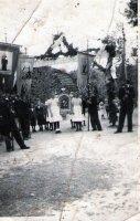 procesia na privítanie biskupa Gojdiča - rok 1942
