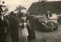 návšteva biskupa Gojdiča - rok 1942