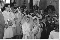 prvé sväté prijímanie - rok 1971