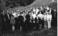 prvé sväté prijímanie s otcom duchovným Baranikom 27.7.1975