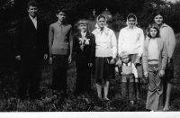 prvé sväté prijímanie - rok 1975