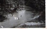 vodné radovánky v Ondave pri mlyne