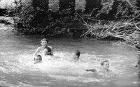 vodné radovánky v Ondave na Vyšnom konci