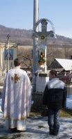 kríž v parku