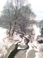 zimná krása na Ondave 11.1.2013
